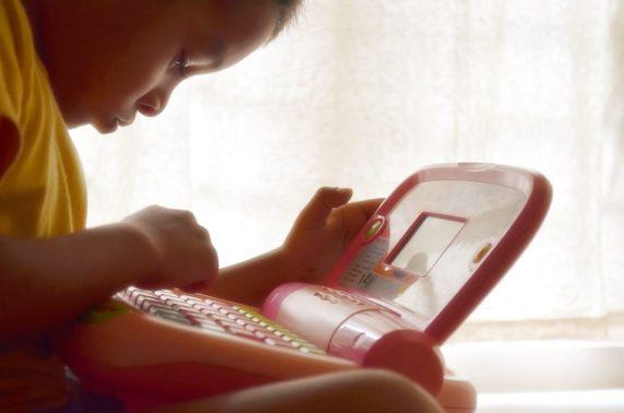bambino smart working casa